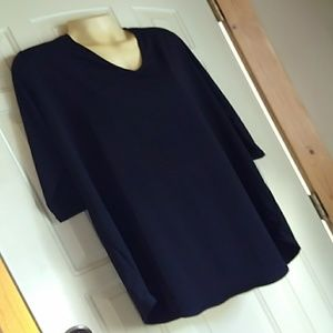 Black V Neck top by H&M NWT size xl